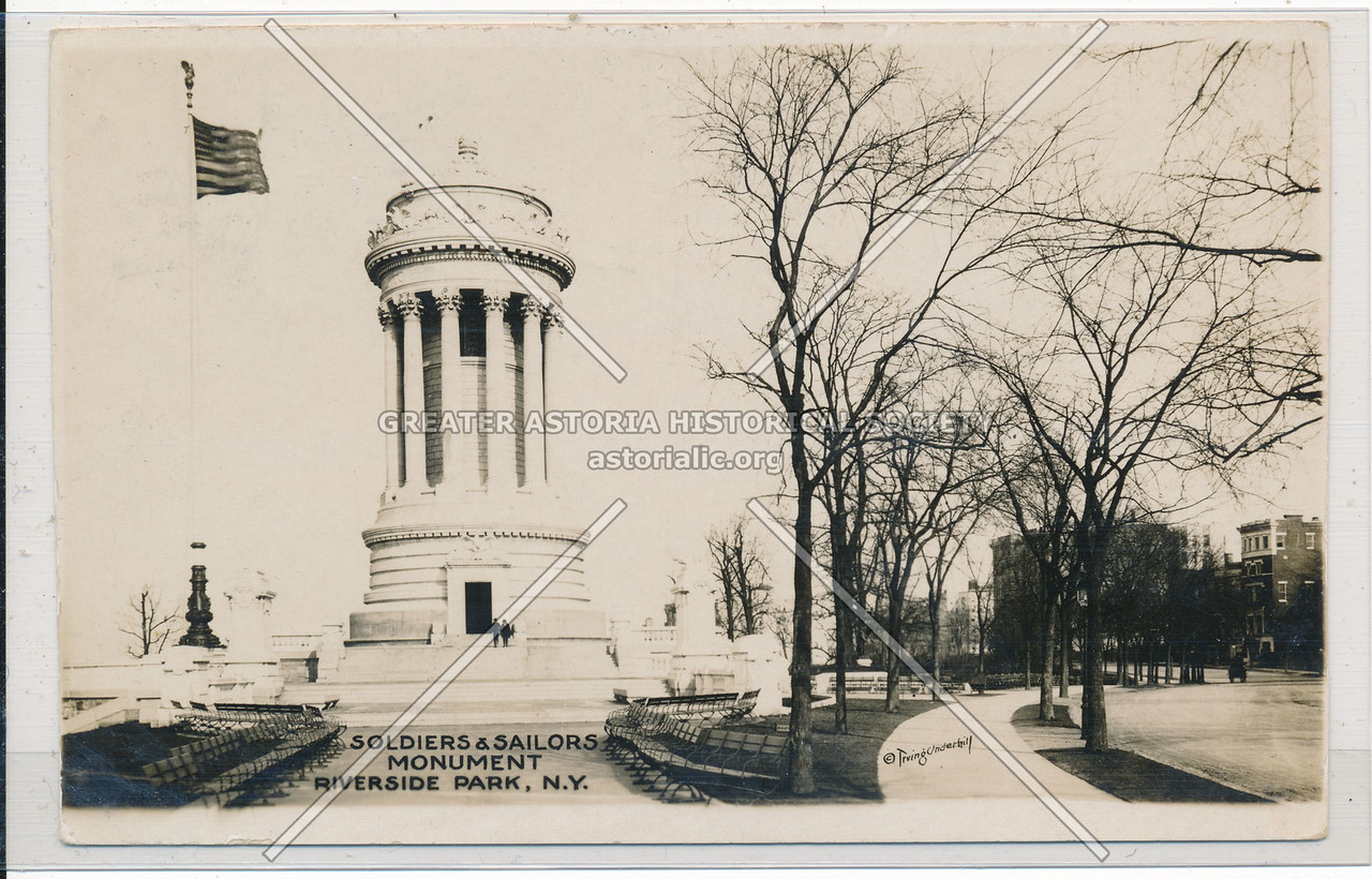 Soldiers & Sailors Monument, Riverside Park, NYC