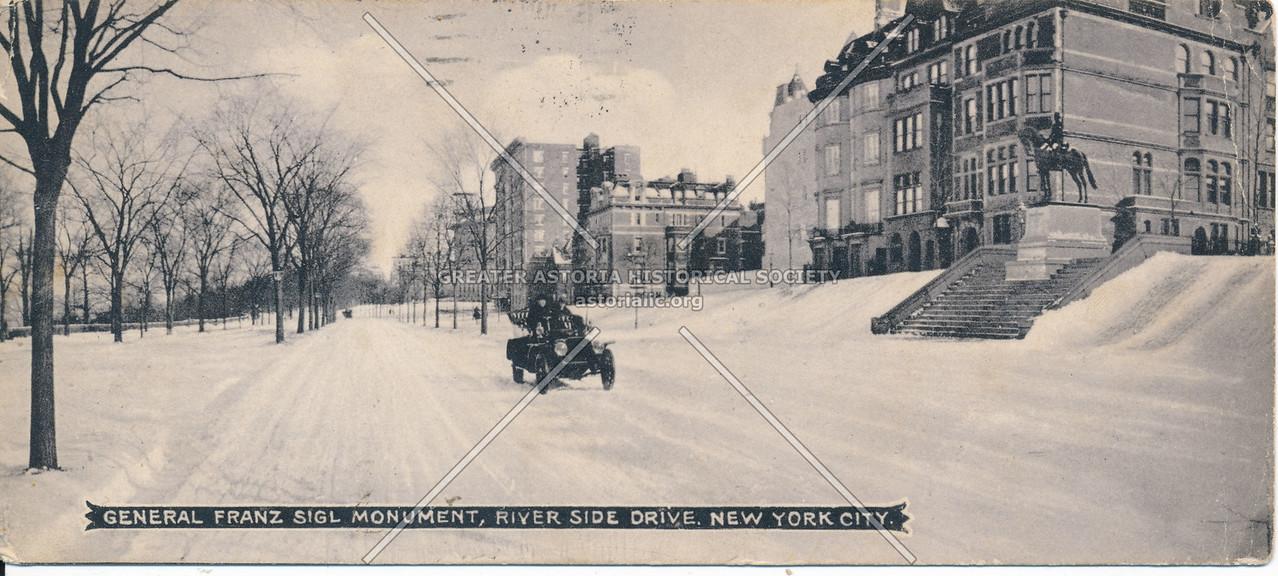 Franz Siegel Monument, Riverside Dr, NYC
