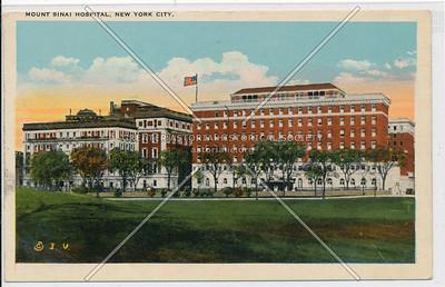 Mt Sinai Hospital, NYC