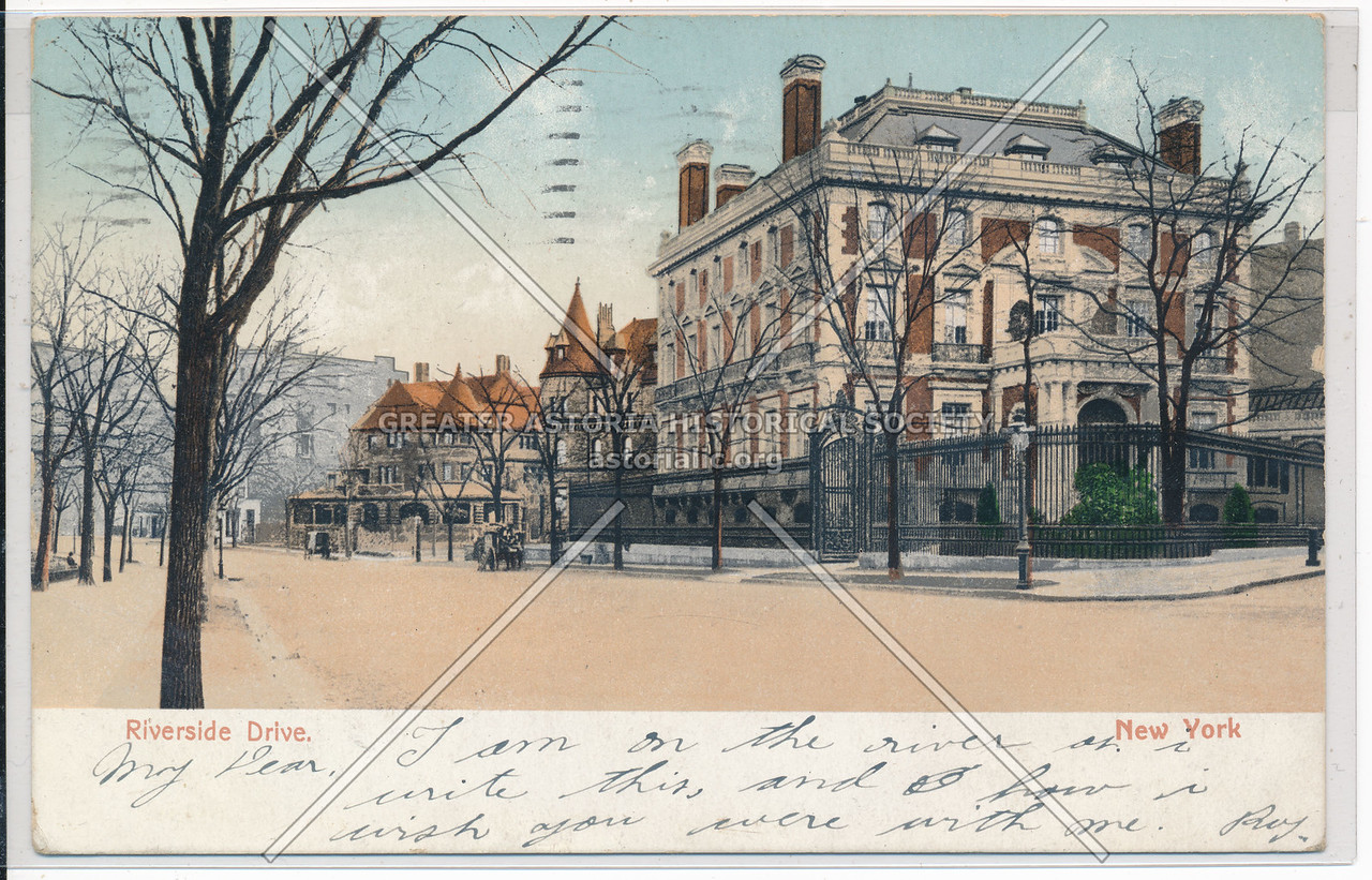 Bishop Potter Residence, Riverside Dr, NYC