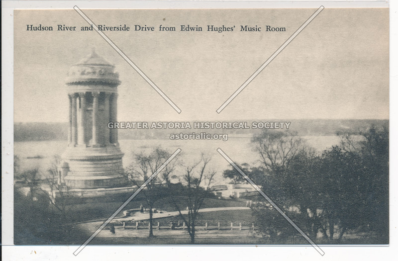 Hudson River with Soldiers & Sailors Monument, NYC
