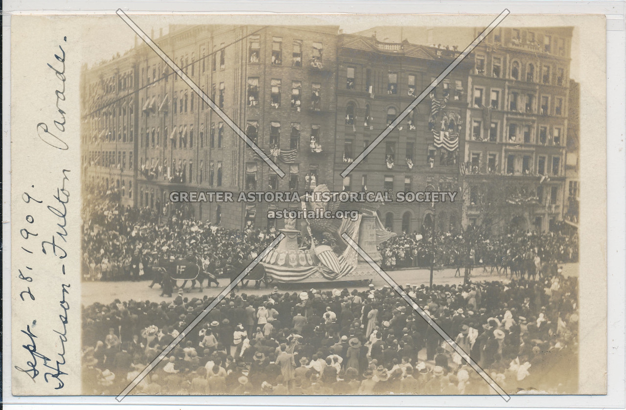 Hudson Fulton Celebration (1909) - Parade