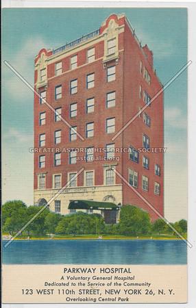Parkway Hospital, 123 W 110 St, NYC