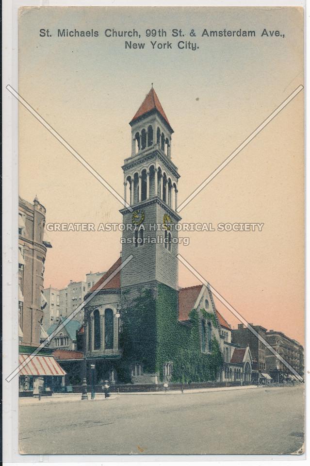 St Michael Church, Amsterdam & 99 St, NYC