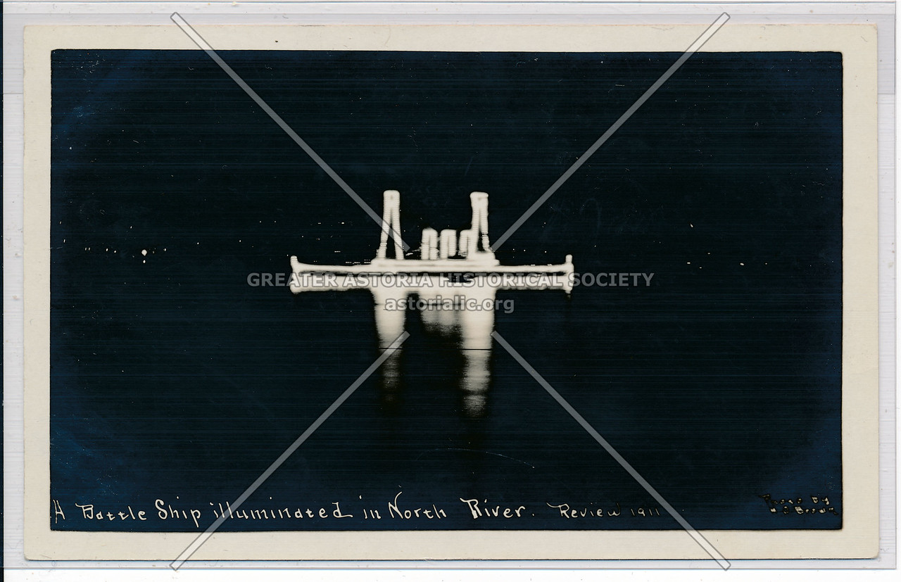 Naval Review on Hudson River (1911)