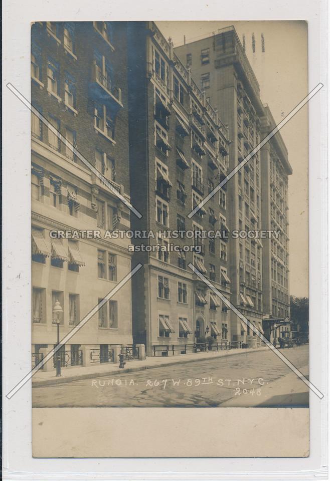 Runoia, 267 W 89 St, NYC