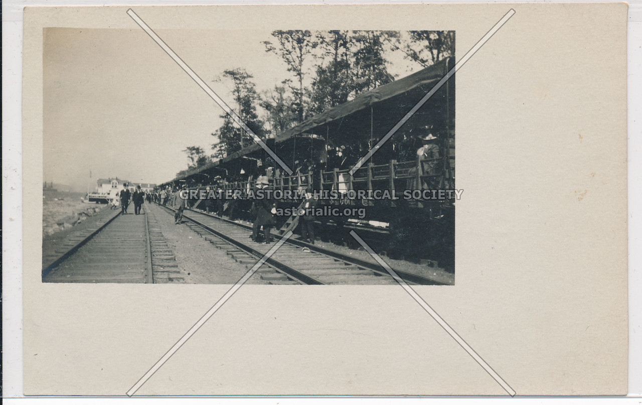 Hudson Fulton Celebration (1909) -NY Central Observation Train
