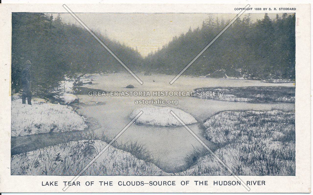 Lake Tear of the Clouds, source of Hudson River