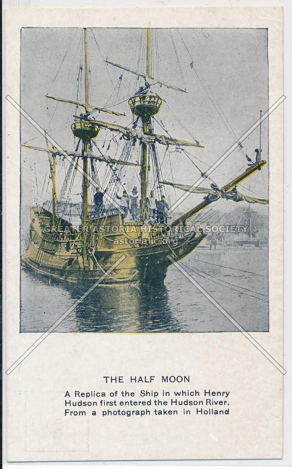 Hudson Fulton Celebration (1909) - Half Moon Replica