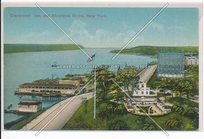 Claremont Inn, Riverside Drive, Hudson River