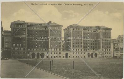 Hartley & Livingston Halls, Columbia U, NYC