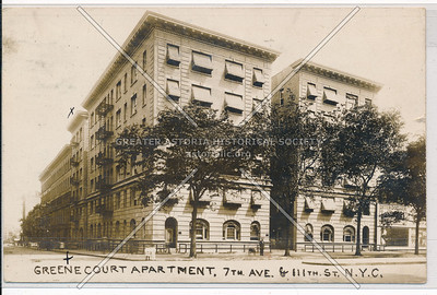 Greene Court Apartment, 7 Ave & 111 St, NYC