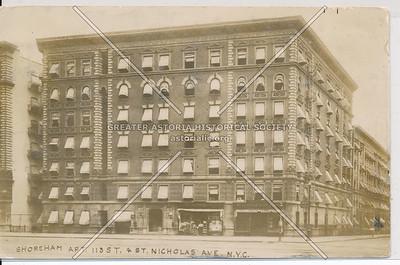 Shoreham Apt, 113 St & St Nicholas Ave, NYC