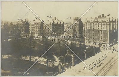 Columbia Residence Halls & Amsterdam Ave, NYC