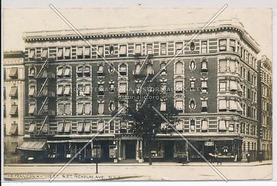The Franconia, 112 St & St Nicholas, NYC