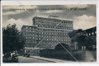 Johnson Hall, Columbia U, NYC