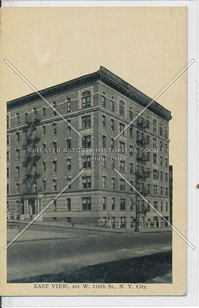East View Apartments, 118 St & Morningside Ave, NYC