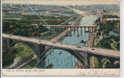 Washington and High Bridges, Harlem River