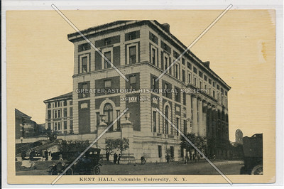 Kent Hall, Columbia U, NYC