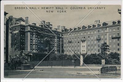 Brooks & Hewitt Halls, Columbia U, NYC