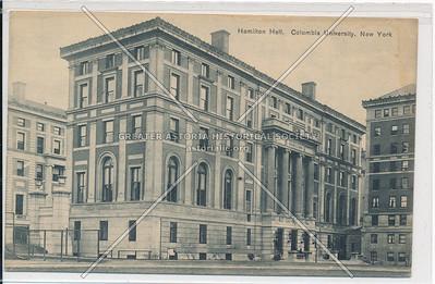 Hamilton Hall, Columbia U, NYC