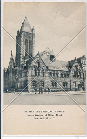 St. Martin's Episcopal Church, Lenox Ave at 122nd St, NYC