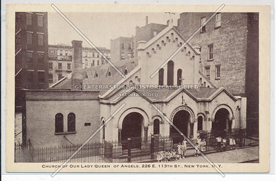 Our Lady of the Angels, E 113 St, NYC