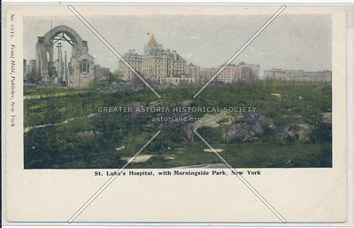 St Luke's Hospital & Morningside Park, NYC
