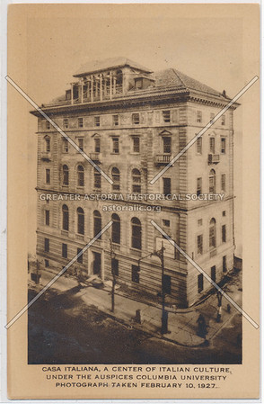 Casa Italiana (Columbia U) , Nyc