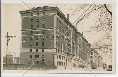 Livingston & Hartly Hall, Columbia U, NYC