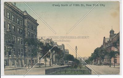 B'way N of 119 St, NYC