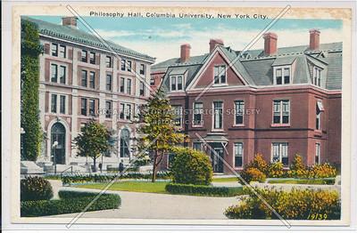Philosophy  Hall, Columbia U, NYC