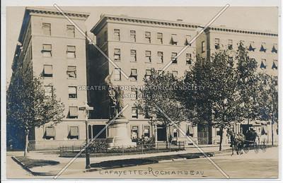 Lafayette & Rochambeau, 114 St & Morningside Ave, NYC