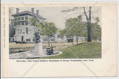 Riverside with G Washington Monument, NYC
