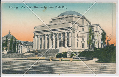 Library Building, Columbia U, NYC