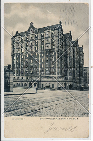 Whittier Hall, Coumbia U, NYC