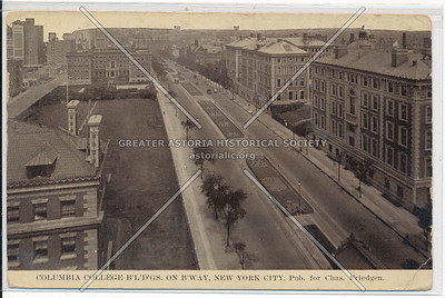 Columbia University on B'way, NYC