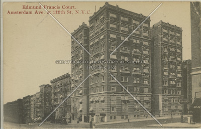 Edmund Francis Court, Amsterdam Ave & 120 St, NYC