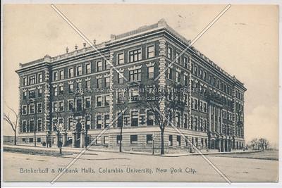 Brinkerhoff & Milbank Halls, Columbia U, NYC