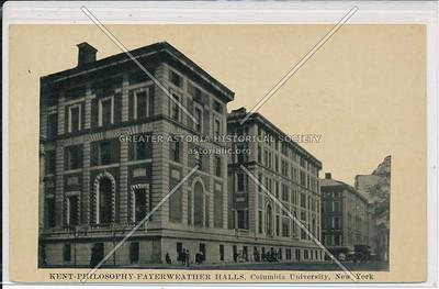Kent, Philosophy, Feyerweather Hall, Columbia U, NYC