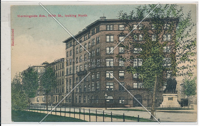 The Monterray, Morningside Ave. & 114 St, NYC looking N (1892)