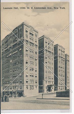 Laurette Hall, Amsterdam & 119 St, NYC