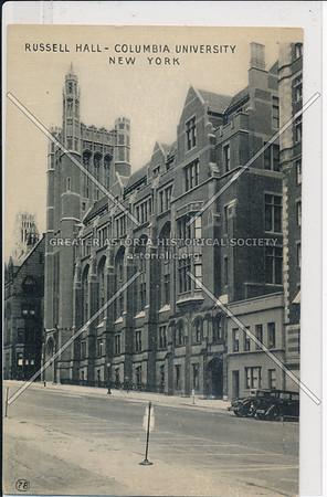 Russell Hall, Columbia U, NYC