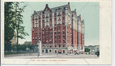 The Lowell, Columbia U, NYC