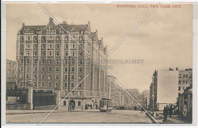 Whittier Hall, N W Cor 120 St & Amsterdam Ave, Columbia U, NYC