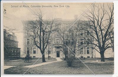 School of Mines, Columbia U, NYC