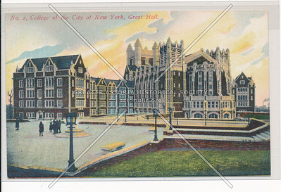 Great Hall, College of the City of New York, NYC