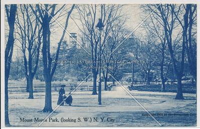 S.W., Mt. Morris Park, NYC