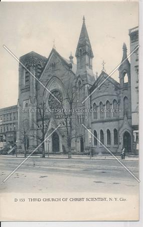 3rd Christian Science Church, 43 E 125 St, NYC (1905-1919)