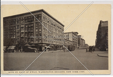 145 St E of B'way, NYC